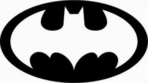 Batman, наклейка