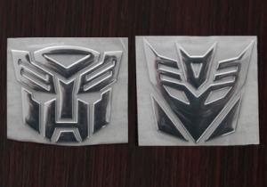Трансформеры - 3D наклейка на авто