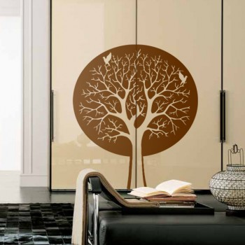 Декоративный узор - волшебное дерево