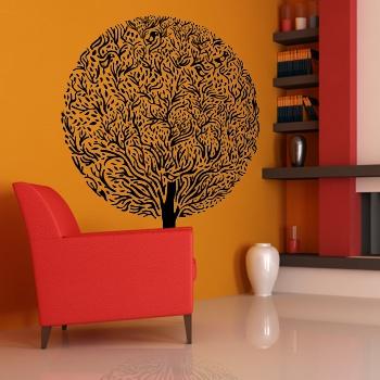 Декоративный узор - супер-дерево