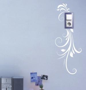 Легкость - наклейка на розетку, включатель, выключатель