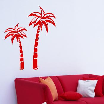 Декоративный узор - пальма из африки