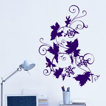 Декоративный узор - виноградная лоза