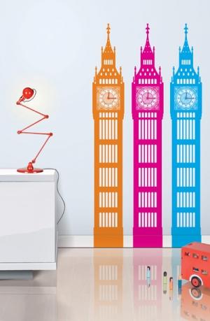 Лондон, наклейка