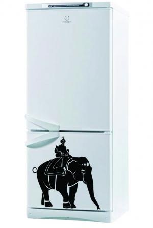 Махараджа - наклейка на холодильник