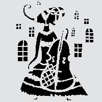 Виолончелистка в замке