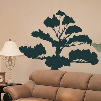 Декоративный узор - африканское чёрное дерево