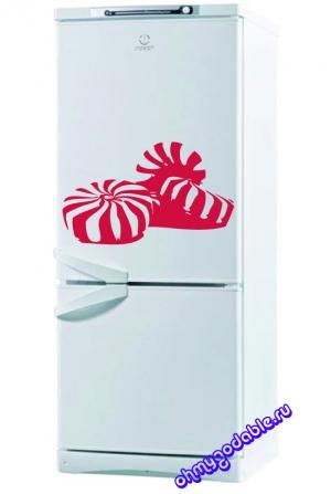 Конфетки - наклейка на холодильник