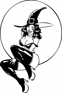Хорошенькая ведьмочка