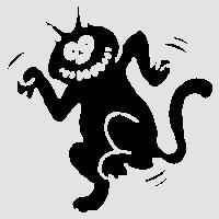 Пляшущий кот