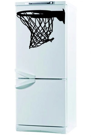 Баскет - наклейка на холодильник