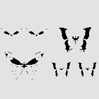 Луговые бабочки - набор