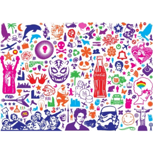 Cтикербомбинг -  Stickerbombing Freebies set