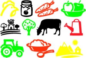 Ферма - набор развивающих наклеек