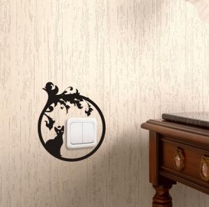 Богема - наклейка на розетку, включатель, выключатель