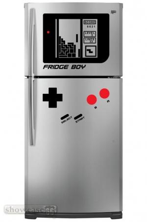 наклейка на холодильник - Game Boy
