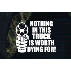 Nothing in this truck