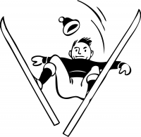 Лыжник 2