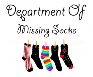 Missing socks - наклейка
