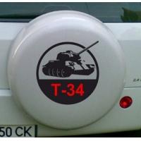 T-34 - наклейка на авто к 9 Мая