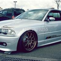 Наклейка Power by BMW Motorsport