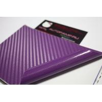 пленка под карбон; фиолет 3D