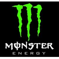 Monster energy, наклейка