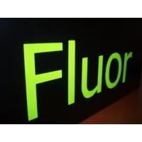 пленка самоклеющаяся флуоресцентная; шир.  1м
