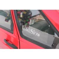 Low & Slow, наклейка