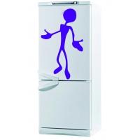 Инопланетянин - наклейка на холодильник