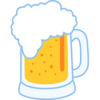 Пиво - наклейка к Oktoberfest