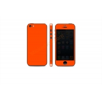 Наклейка на IPhone красная сверхъяркая флуоресцентная