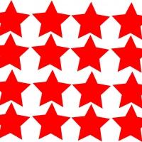 Звезды - набор наклеек на 9 мая