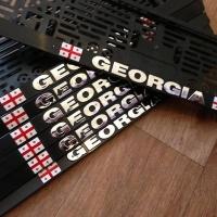 Рамка под автономер Грузия