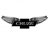 Cruze наклейка на машину