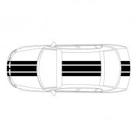 3 полосы на авто: шиирна 1 - 15см, 2 - 10 см