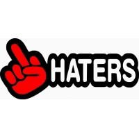 Haters_, наклейка