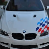 Наклейка на БМВ М-racing