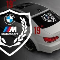 Наклейка на БМВ Мotorsport