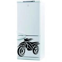 Мото - наклейка на холодильник
