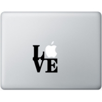 Наклейка на Apple Mac - Love