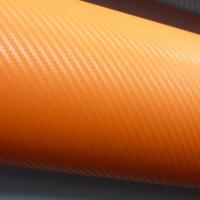 пленка под карбон; оранж 3D