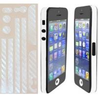 Наклейка на IPhone прозрачный карбон 3D.