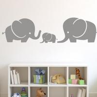 Слоники - наклейка