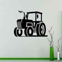 Трактор - наклейка