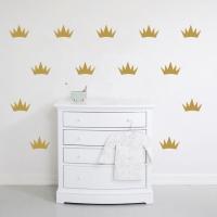 Короны - наклейки стики на стену
