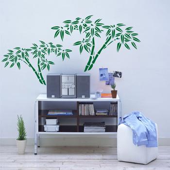 Декоративный узор - азиатский бамбук
