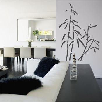 Декоративный узор - бамбук