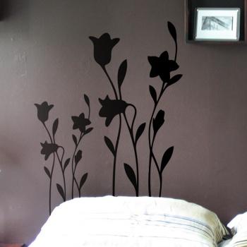 Декоративный узор - икебана