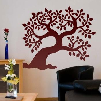 Декоративный узор - вековой дуб